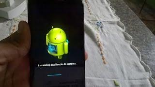 Atualizando meu Moto E(1ª Geração) para o Android 5.1!!! PT-BR
