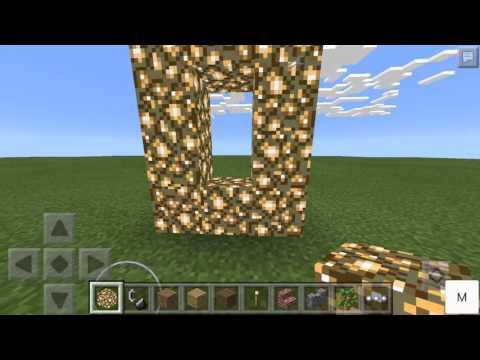как построить портал в рай в minecraft pe версия 0.14.0 #7