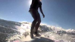 Surfing Nicaragua with the GoPro Video