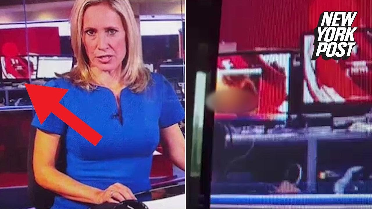 Anchor Delivers The News While Porn Plays Behind Her New York Post