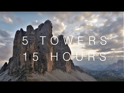 5 Towers 15 Hours - Big Walling On The Tre Cime