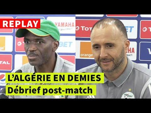 REPLAY - CAN-2019 | Algérie-Côte d'Ivoire: conférence de presse post-match de Belmadi et Kamara
