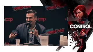 Matthew Porretta talks about the game Control (Comic Con 2018)