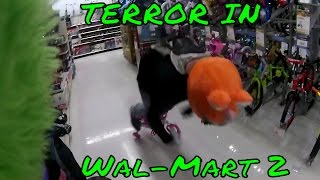terror in wal mart 2 with a special announcement