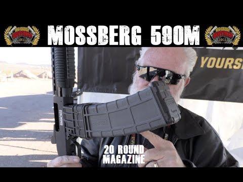 Mossberg 590M - 12 Gauge Magazine Fed Shotgun