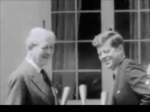 April 8, 1961 - President John F. Kennedy's and Harold Macmillan's remarks after their meeting