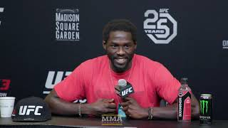 UFC 230: Jared Cannonier Post-Fight Press Conference - MMA Fighting
