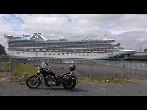 Carribean Princess Cruise Ship, Stormont Wharf Belfast 2017