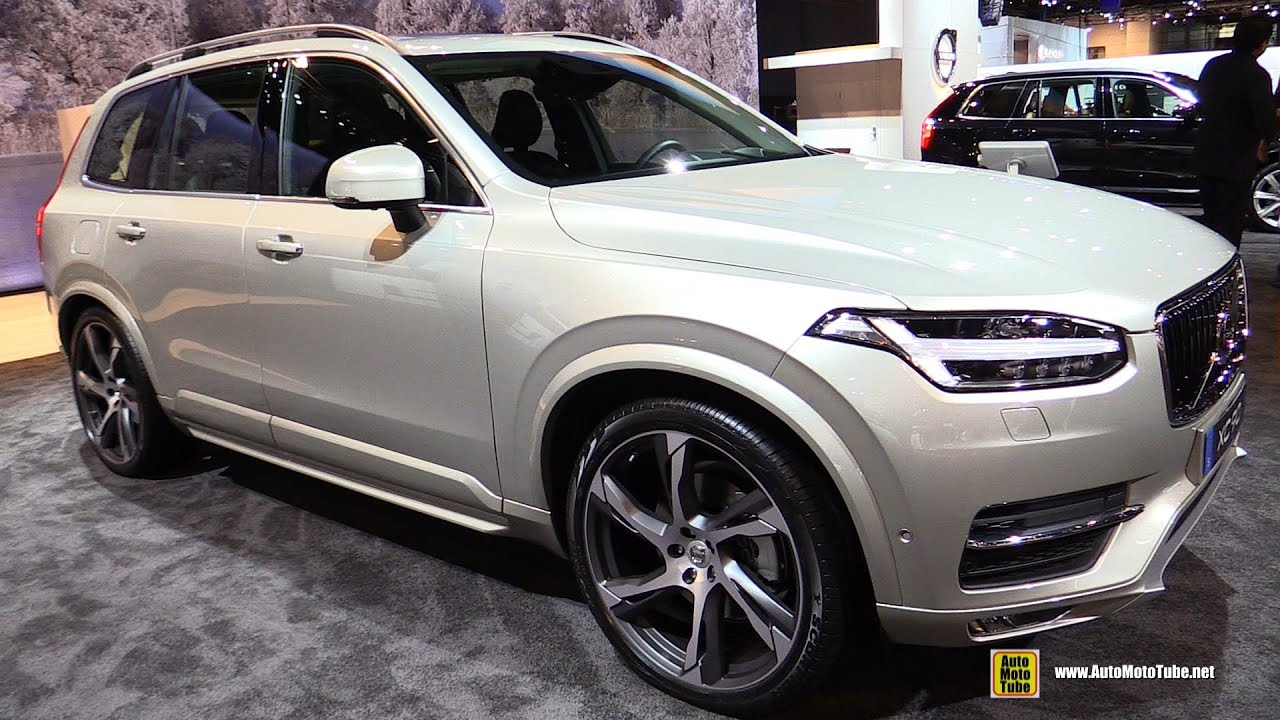 2015 Volvo XC90 T6 AWD Momentum - Exterior and Interior ...