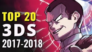 Top 20 Best Nintendo 3DS Games of 2017-2018