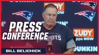 """Bill Belichick: """"We just played well across the board"""" Video"""