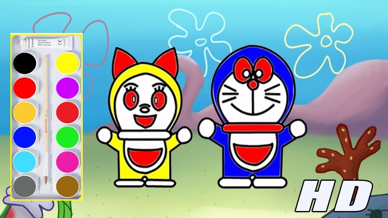 Unduh 47 Koleksi Gambar Mewarnai Anak Doraemon Gratis Terbaik