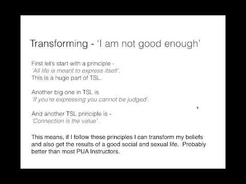Changing Beliefs - Empowering Identity | TSL Online Presentation