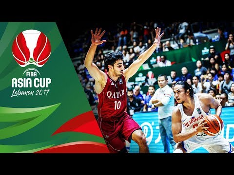 Philippines v Qatar - Full Game - FIBA Asia Cup 2017