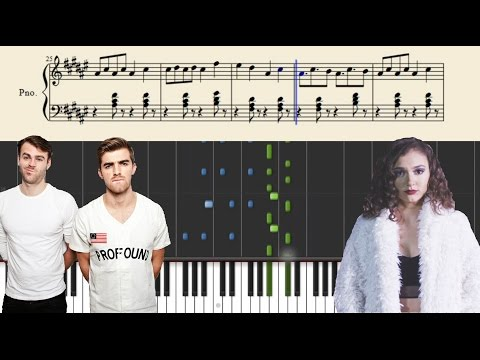 The Chainsmokers & Daya - Don't Let Me Down - Piano Tutorial + Sheets