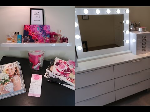 Beauty Room Tour & Makeup Collection💋✨