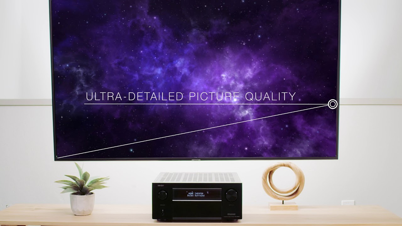 Avr X3500h 7 2 Channel 4k Av Receiver With 3d Audio Home Theater System