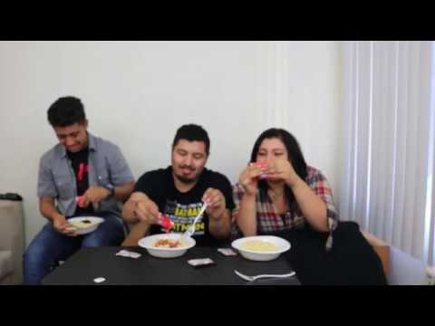 x2 SPICY NOODLE CHALLENGE!!!! (TEARS SHED)