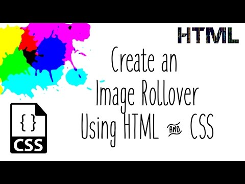 Create A Rollover With HTML And CSS
