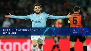 UEFA Champions League | Shakhtar Donetsk vs Man City | Highlights