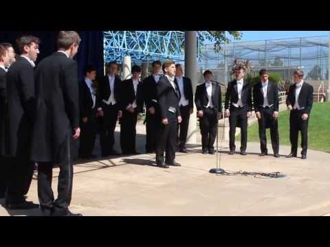 Yale University's Spizzwinks(?) Visit La Jolla Country Day