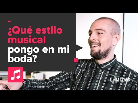 ¿Which music style should I play at my wedding?