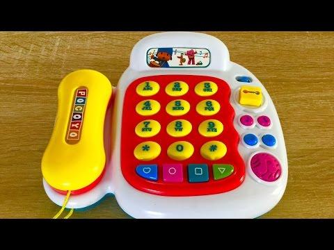 pocoyo telephone kids toy
