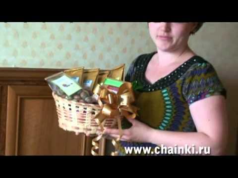 Чайные корзины - эффектный подарок к любому празднику