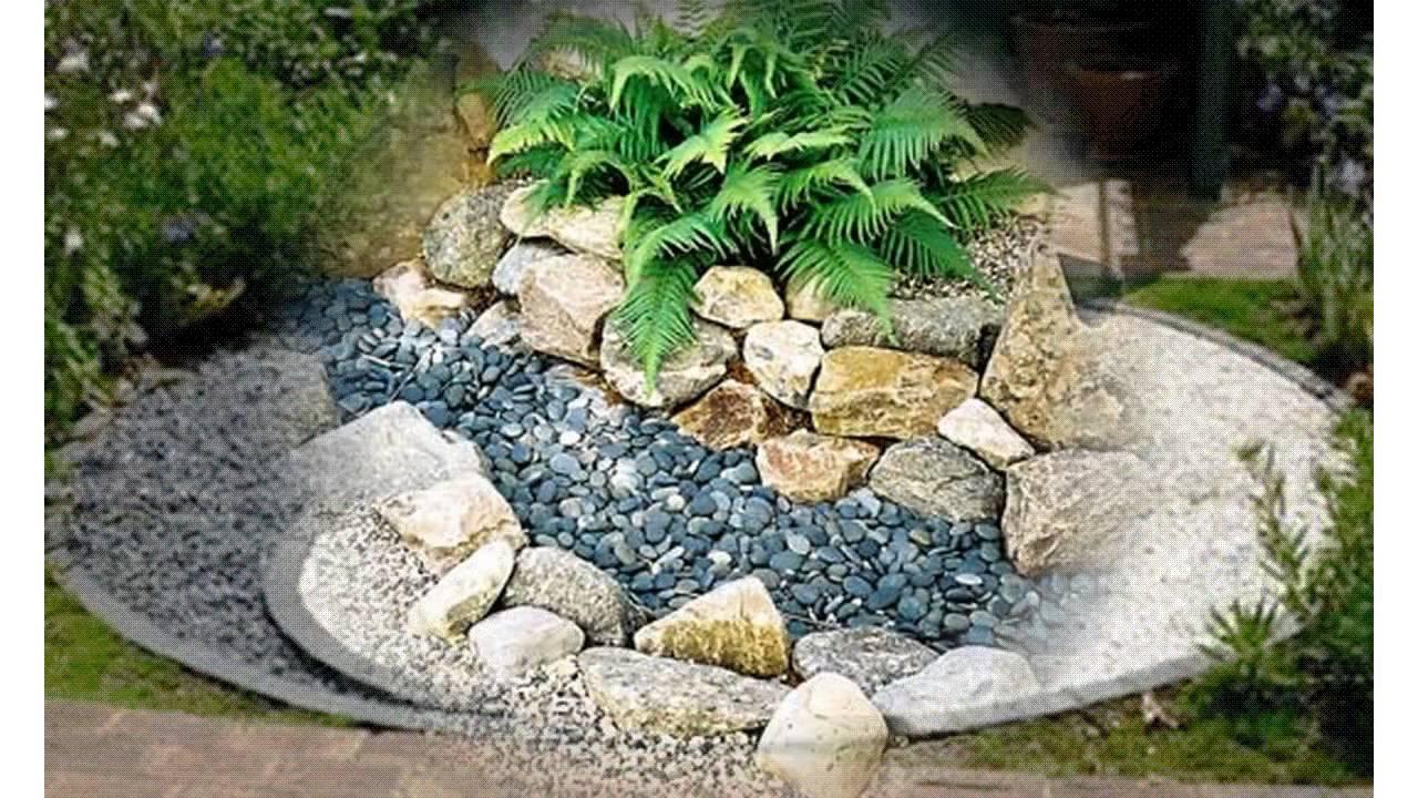 Small rock garden ideas - YouTube on Small Garden Ideas With Rocks id=62018