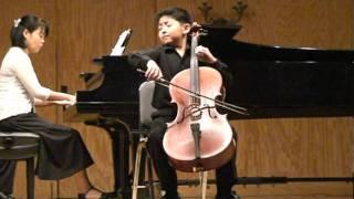 Hungarian Rhapsody (D. Popper).  Noah Lee, Cello