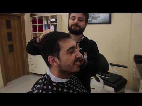 ASMR Turkish Barber Haircut,Nose Wax and Beard Shave 11 (33 Mins)