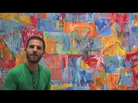 """Map"" by Jasper Johns, 1961   MoMA Education"