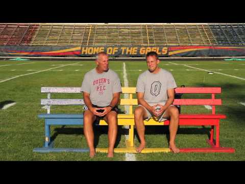 ALS Ice Bucket Challenge by Pat Sheahan & Ryan Sheahan @Queens_Football