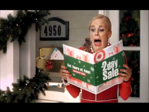 Crazy Target Lady- Montage (2010 Commercial) - YouTube