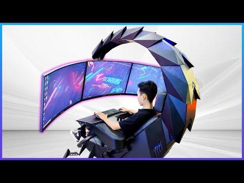 Trải nghiệm ghế gaming bọ cạp + PC full Gigabyte | Foci