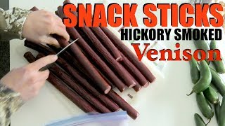 How To Make Venison Snack Sticks: Field to Table