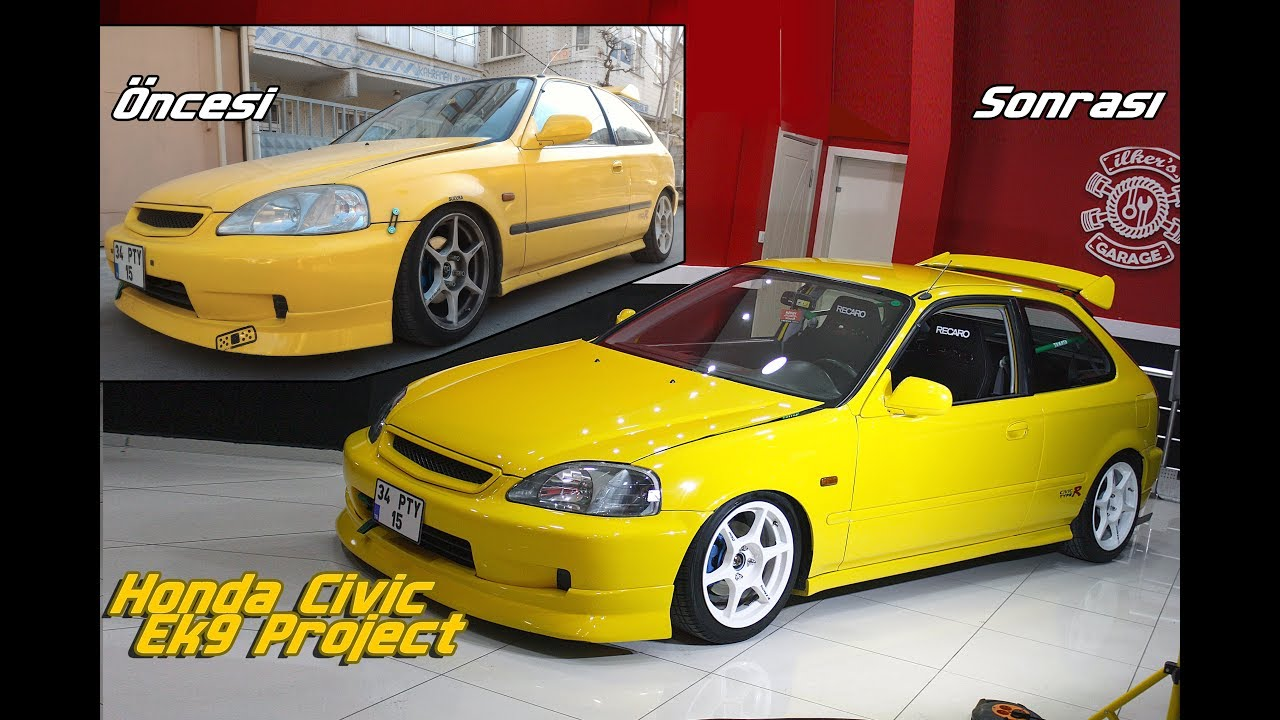 Honda Civic Ek9 Project Vehicle Restoration Youtube