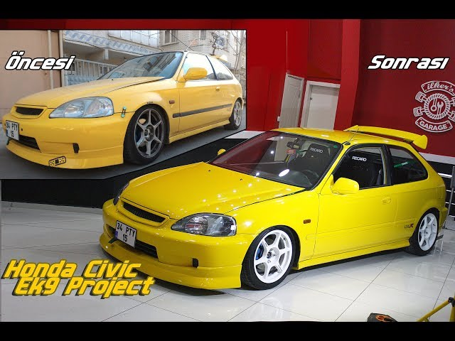 Honda Civic Ek9 Project Vehicle Restoration Youtube