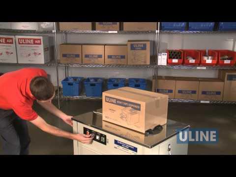uline banding machine