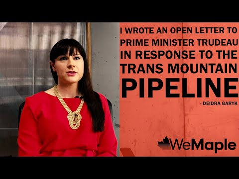 I wrote an open letter to the Prime Minister in response to the Trans Mountain Pipeline