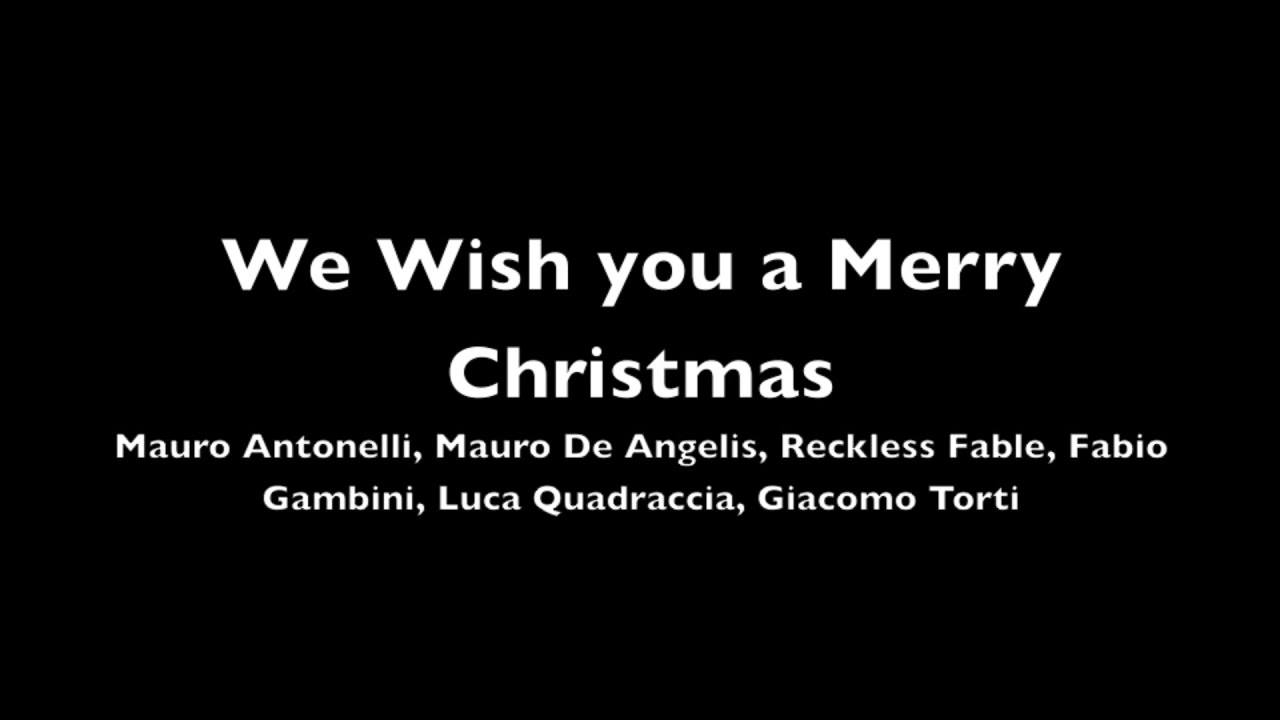 We Wish you a Merry Christmas (in the style of Jeff Scott Soto ...