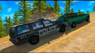 BeamNG Drive Crashes - Police Chase - High Speed Police Chase 10