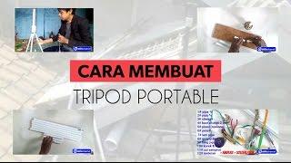 Cara membuat tripod portable dari pipa pvc | DIY tripod portable