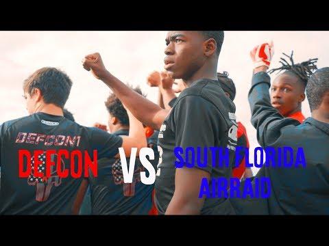 DEFCON IN ACTION!! || South Florida air raid vs Defcon
