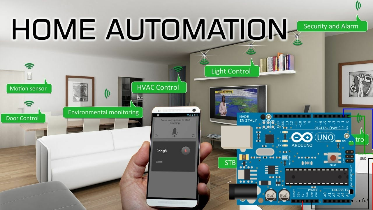 Bluetooth Control Home Automation Simple Project