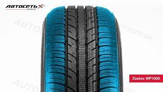 Обзор зимней шины Zeetex WP1000 ● Автосеть ●