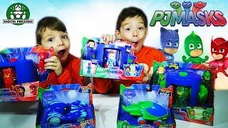 Πιτζαμοήρωες Παιχνίδια Θάλαμος Μεταμόρφωσης Φιγούρες και Οχήματα Giochi Preziosi Unboxing