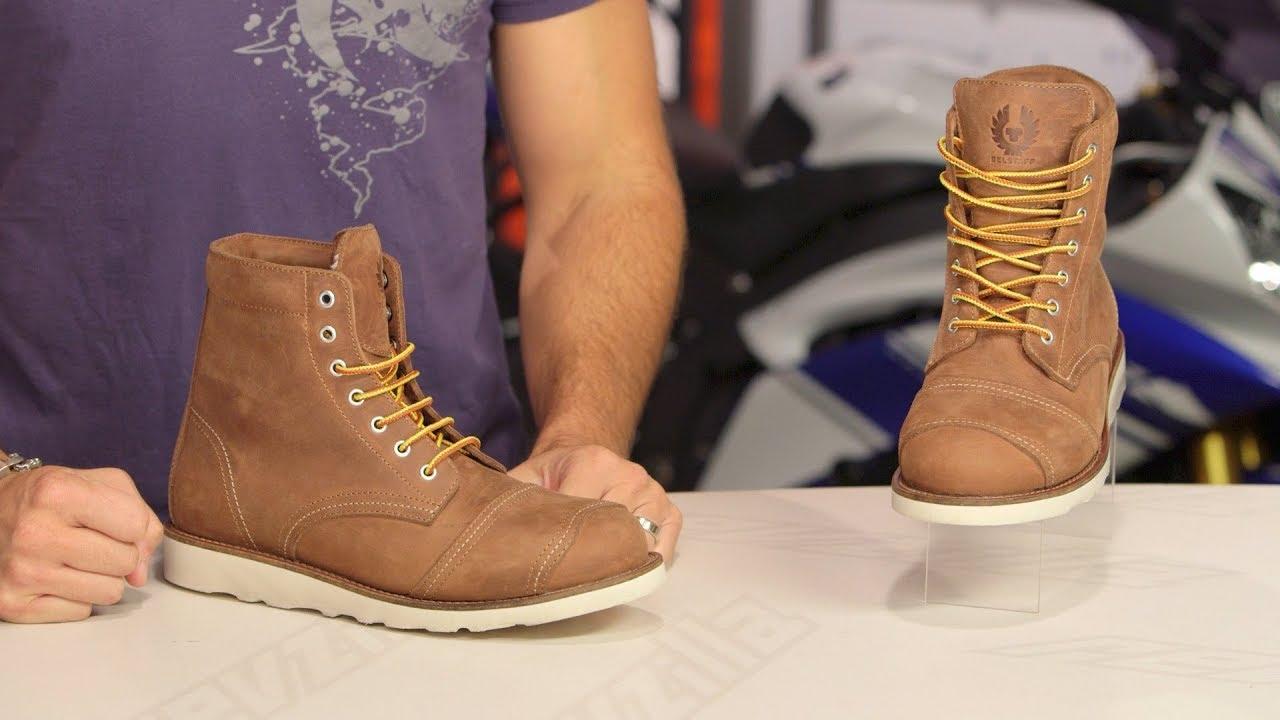 c34b611c4db1 Belstaff Anderson Short Boots Review at RevZilla.com - YouTube