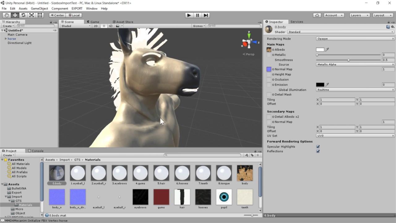 Sizebox tutorial: Model Conversion