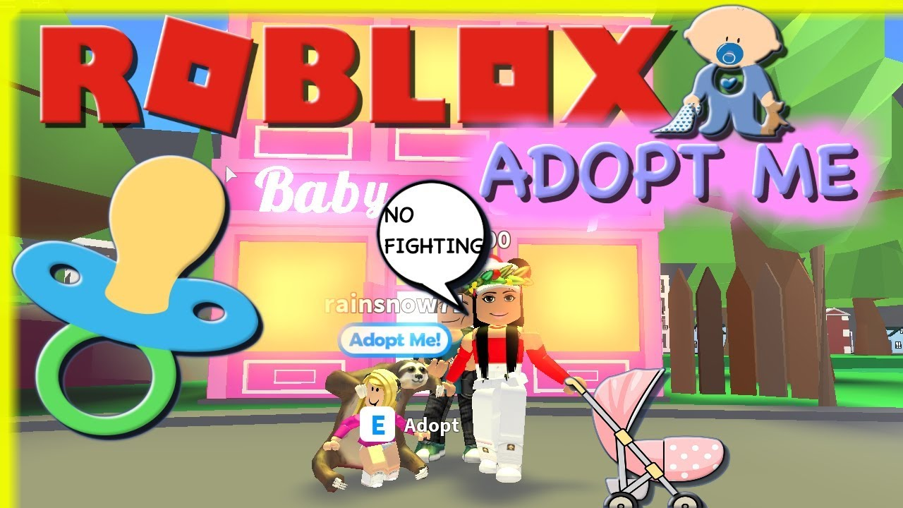 Roblox Adopt Me🍼👪adopting The Bad The Kid Baby Gets In